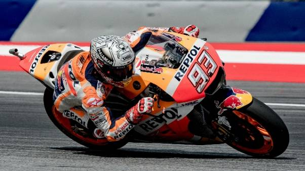 MotoGp: Austria, 3/e libere a Marquez