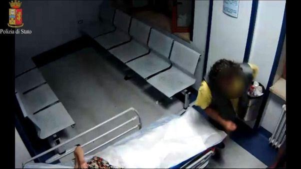 Morta donna aggredita ospedale Taranto