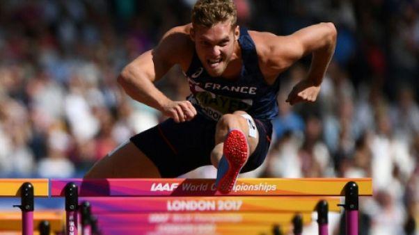 Athlétisme: record personnel pour Mayer sur 110 m haies, toujours en tête au décathlon
