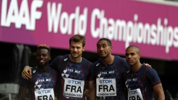 Athlétisme: les Français qualifiés pour la finale du relais 4x100 m