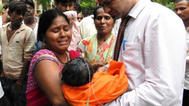 Inde: 60 enfants meurent dans un hôpital, le manque d'oxygène en cause