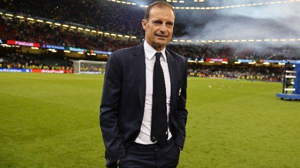 Supercoppa, rifinitura Juve a Vinovo