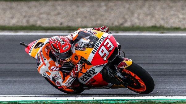 MotoGp: Austria, Marquez in pole