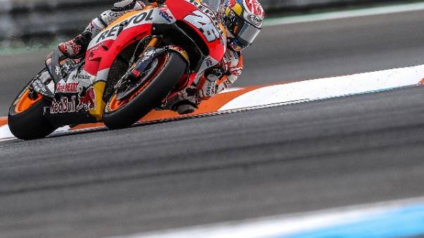 MotoGp: Marquez, lottiamo per il podio