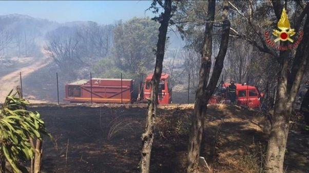Rogo a Porto Rotondo, evacuato villaggio