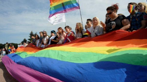Rassemblement pro-gay sans incidents à Saint-Pétersbourg, fait rare en Russie