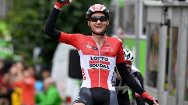 Binckbank Tour: l'étape pour Wellens, Dumoulin prend le général avant l'arrivée
