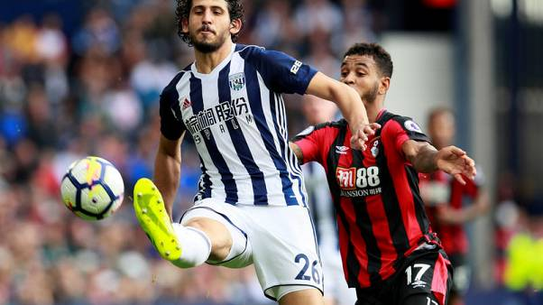 Hegazi heads West Brom to 1-0 win over Bournemouth