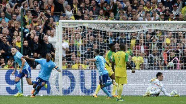 Ligue 1: Marseille s'impose sur le fil 1-0 à Nantes