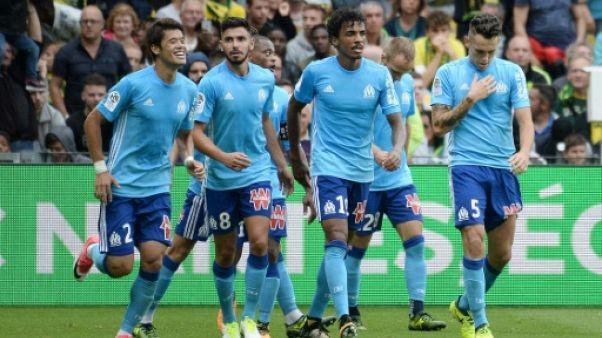 Ligue 1: Marseille arrache un succès face à des Nantais décimés