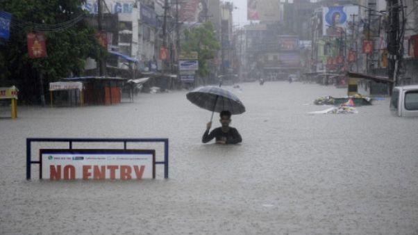 La mousson fait au moins 94 morts en Inde et au Népal