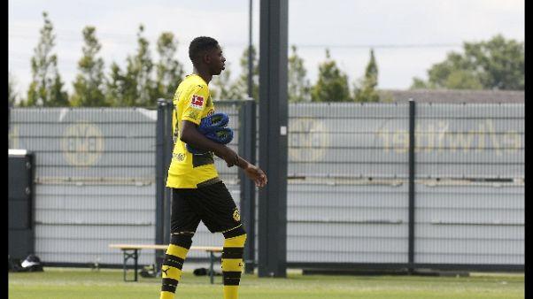 B.Dortmund, Dembelè resta sospeso
