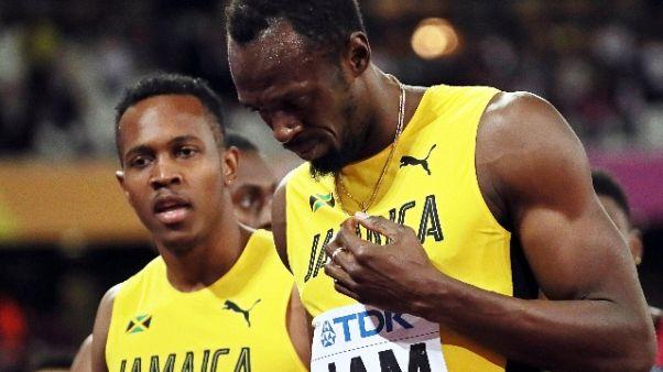 Atletica: Bolt, non volevo finire così
