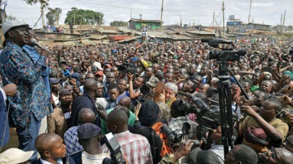Kenya: Odinga ne cède pas et appelle ses partisans à rester chez eux lundi
