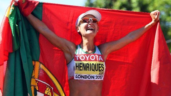 Atletica: Henriques vittoria e record