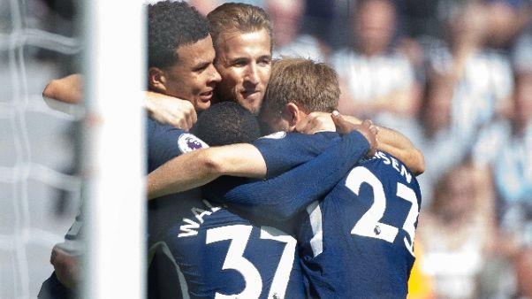 Premier: Newcastle-Tottenham 0-2