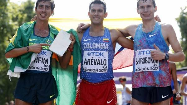 Atletica:Arevalo oro iridato 20km marcia