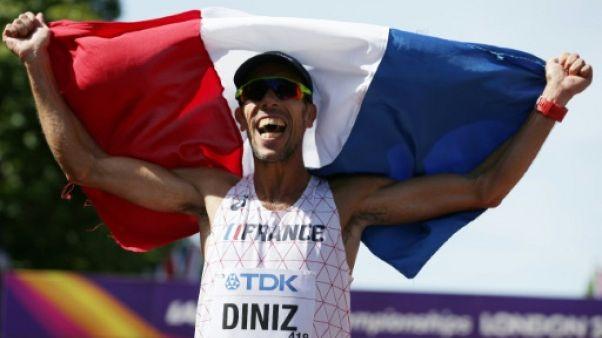 Athlétisme: Diniz, un feuilleton à lui tout seul