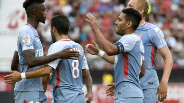 Ligue 1: Monaco et Falcao écoeurent Dijon, Mbappé reste sur le banc