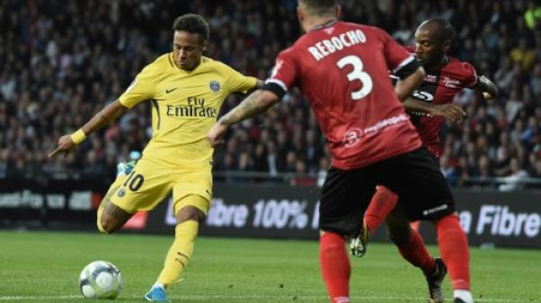 Ligue 1: à la mi-temps, Guingamp et PSG 0-0