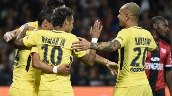 Ligue 1: débuts très réussis pour Neymar à Guingamp