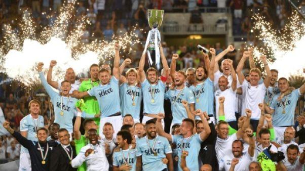 Supercoupe d'Italie: la Lazio prend sa revanche sur la Juve