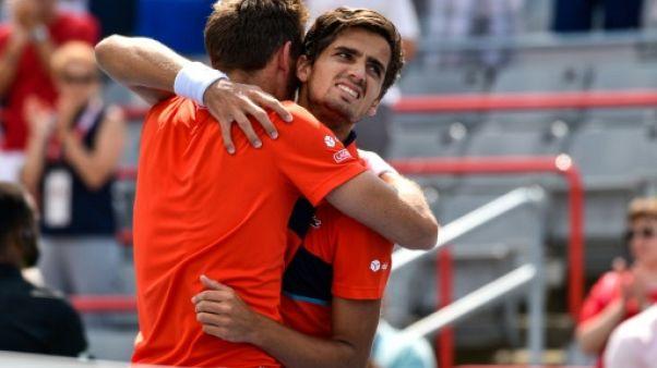 Tennis: Mahut et Herbert titrés en double à Montréal
