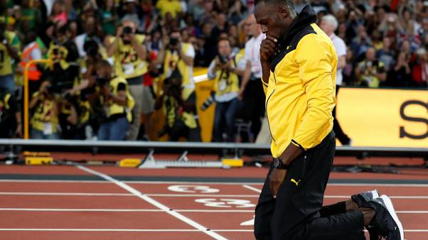 """Bolt vows """"never again"""" after emotional London farewell"""