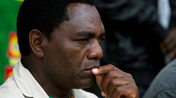 Opposition leader denies treason charge in case that has rattled Zambia