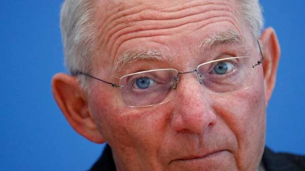 Schaeuble says hopes ECB's low interest rate policy ends soon
