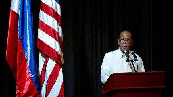 Philippines says China has agreed no new expansion in South China Sea