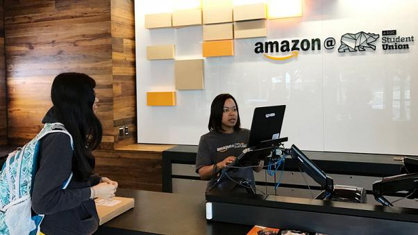 Amazon opens 'Instant Pickup' points in U.S. brick-and-mortar push