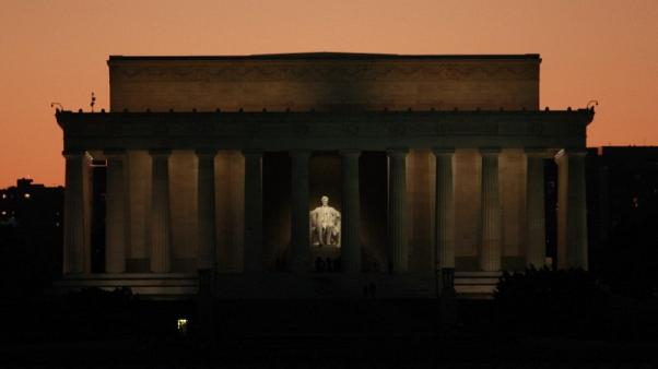 Lincoln Memorial in Washington defaced with expletive