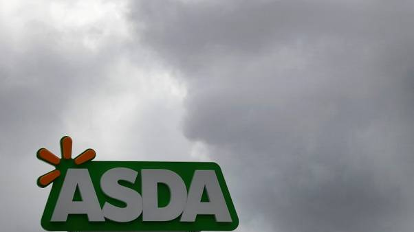 Britain's Asda reports first sales growth in three years