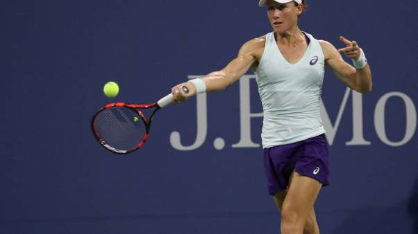 Stosur withdraws from U.S. Open with injured hand