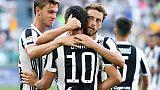 Serie A: Juventus-Cagliari 3-0
