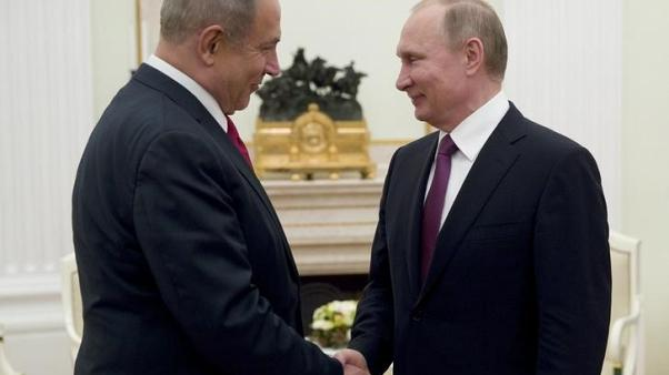 Israel's Netanyahu to discuss Middle East with Putin  - statement