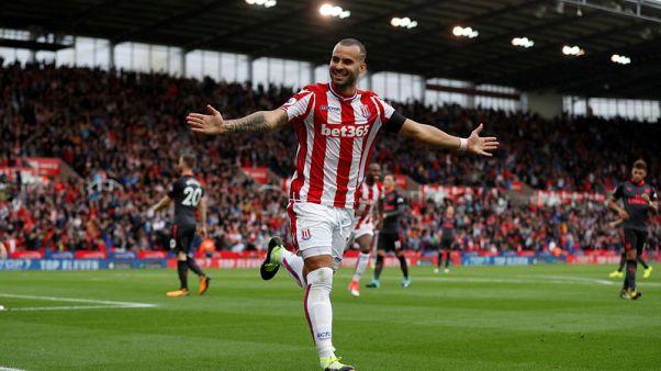 Soccer-Debutant Jese inspires Stoke to win over Arsenal