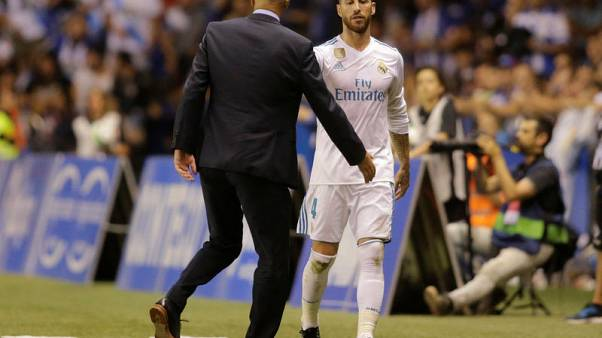 Ramos asks for more leniency from referees after red card record