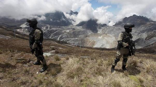Indonesian police name six suspects after labour unrest at Freeport's Grasberg mine