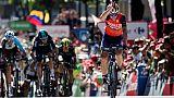 Tour d'Espagne: Nibali et Froome frappent d'entrée, Contador lâché