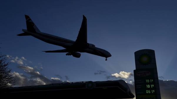 Brexit uncertainty could see 41 percent fall in UK air traffic - Sky News, citing report
