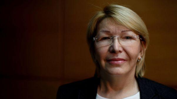 Venezuela's top prosecutor has left Colombia for Brazil