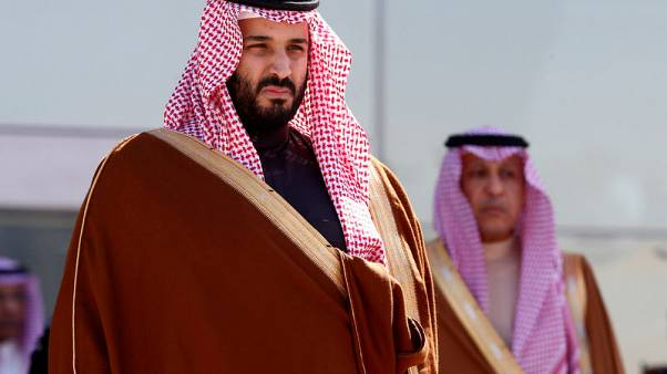 Saudi crown prince discusses Mideast peace with U.S. officials
