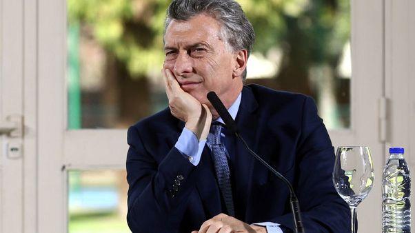 Argentina labour unions protest job losses, Macri policies