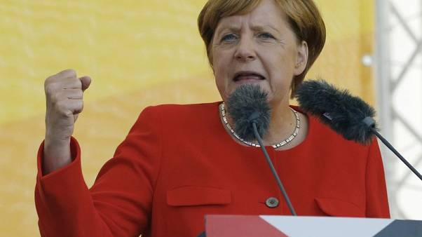 Merkel assuming leadership role in world of erratic strongmen