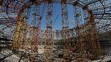 Russia's World Cup stadium in Samara behind schedule