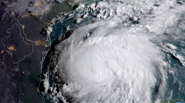 Hurricane Harvey strengthens, threatens U.S. with most powerful storm in 12 years