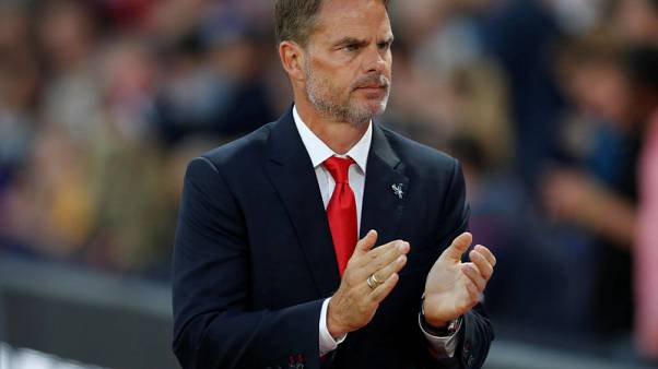 De Boer wants another striker amid Palace's scoring woes