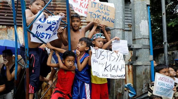 Shot and dumped by a pigsty: a schoolboy killed in Philippines drugs war